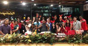 WORQ Subang members in festive mood celebration.