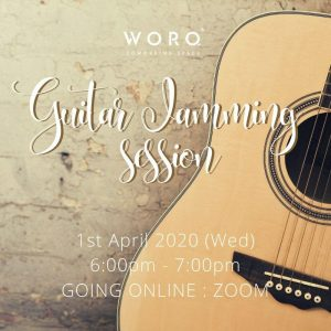 Supporting Our WORQ Members During COVID-19: Virtual Guitar Jamming Session