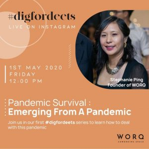 Coping with a pandemic - Stephanie Ping