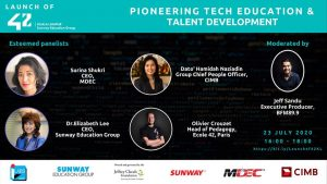 Pioneering tech edu and tech development