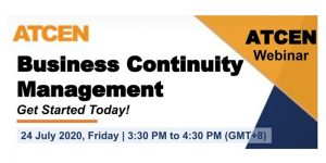 Business continuity management - Get started today