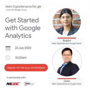 Get started with google analytics