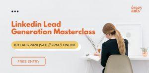 Linkedin lead generation masterclass