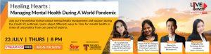 Healing hearts: Managing mental health during a world pandemic