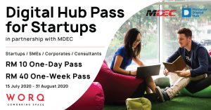 WORQ x Digital Hub Pass