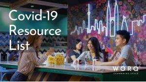 WORQ covid19 resource list