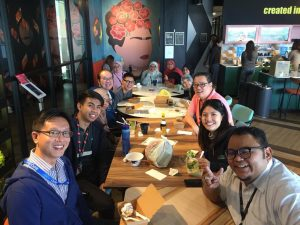 WORQ members lunch