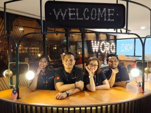 Friendly front desk team to assist you in a coworking space