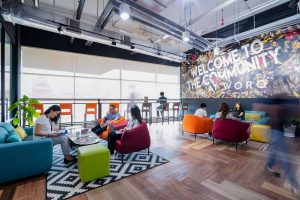 WORQ creates functional office space